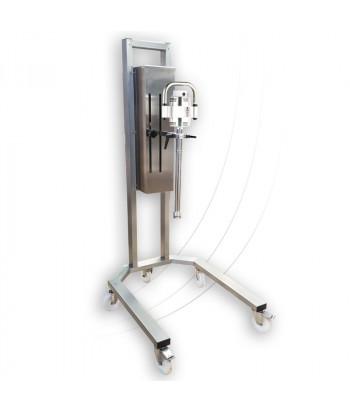 Support Servomix sur châssis roulant - misceo® 1100 P