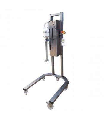 Misceo 650 F avec Tige Cisailleur et Support Servomix Roulant